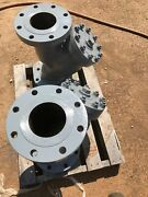"""One 5"""" Flanged Wye Strainer, 300 Lb Flange Pattern, Spence / Ssi, S178, 300 Wcb"""