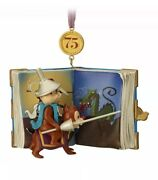 Disney 2018 Chip 'n Dale Legacy 75th Sketchbook Limited Ornament New With Box