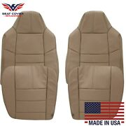 2008 2009 2010 Ford F-250 F-350 Lariat Xlt Leather Seat Cover In Camel Tan