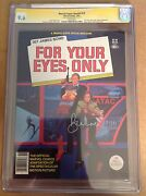 Cgc 9.6 Ss Marvel Super Special 19 For Your Eyes Only Signed By Roger Moore 007