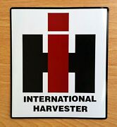 2 International Harvester 4 X 3.5 Vinyl Decal Stickers And Free Usa Flag