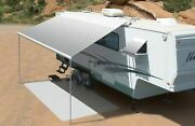 Carefree Freedom Roof Awning White Slsf Vinyl 3.5m Manual Jl1386d25ll