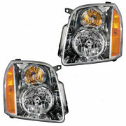 Fleetwood Discovery 2017 Headlight Head Lights Lamps Rv Replacement - Set