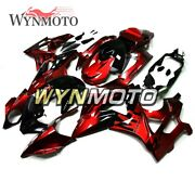 Metallic Red And Black Cowlings For Bmw S1000rr 2009 2010 2011 2012 2013 14 Panels