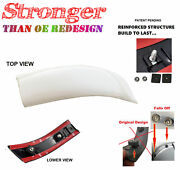 For Ford Super Duty Yo Oxford White 99-07 Roof Side Moulding Reinforced Left Lh