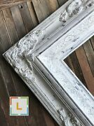 Baroque Style Frameshabby Chic Distressed White Custom Frame Vintage Frame