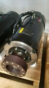 Fadal 15 Hp Spindle Motor W/ Encoder And Cooling Fan Including Pulley Mtr-0282