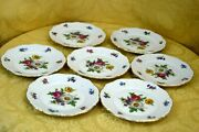 Meissen Floral Germany Mitterteich Fine China Bread And Butter Or Dessert Plate