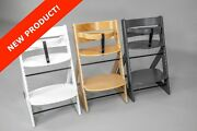 Wooden Adjustable High Chair For Babies, Toddlers, Children And Adults