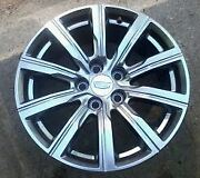 18and039 Cadillac Xt4 10 Spoke Argent Wheel 2019 4820 New