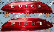 Buick Eight Trunk Plastic Lens New 1950 1951 1952 +our Buick Parts Catalog
