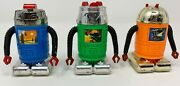 Imperial Toys - 1978 Vintage Robots - Super Rare - Lot Of 3 - Weekend Sale Only