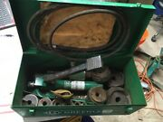 Greenlee 7310sb Hydraulic Knockout 1/2- 4 Conduit Punch Set 1725 Pump 6110