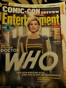 Entertainment Weekly Andbull July 27 2018 Andbull Comic-con Preview Andbull Dr Who Make Any Offer