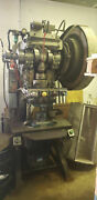 Walsh Press And Die Company Model 38 14 X 26.50 Table C-frame Stamping Press
