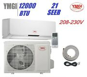 Ymgi 12000 Btu Ductless Mini Split Air Conditioner 1 Ton Capacity Fast Shipping