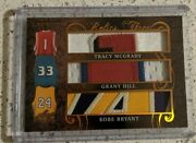 2019 Leaf Ultimate Sports Mcgrady Grant Hill Kobe Bryant Game Used Patch D 5/6