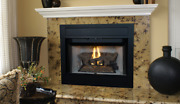 Superior Brt4336ten-b Vent Gas Fireplace Traditional Open Front 36 Ipi