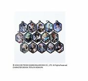 Dissidia Final Fantasy Nt Metal Charm Collection Box Products 1box = 15 Piecef/s