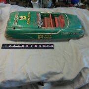 Louis Marx Tin Friction Dick Tracy Official Squad Car--- Just What Is In Photos