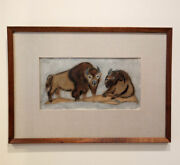 Two Bisson By Charles Culver 1908 - 1967