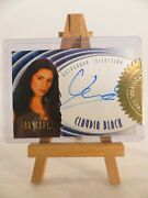Sealed Farscape In Motion Autograph Card A6 Claudia Black As Officer Aeryn Sun
