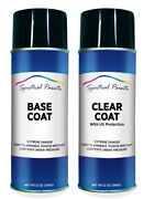 For Ford G9 Vista Blue Metallic Aerosol Paint And Clear Compatible