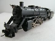Rare New One Model All Metal 2-8-2 Steam Locomotive Engine And Tender Japan