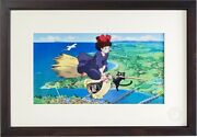 Kikiand039s Delivery Service Limited Official Anime Cel Hand-printed [ghibli] Bc66