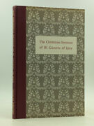 Christmas Sermons Of Guerric Of Igny - 1959 - Signed By Thomas Merton Autograph
