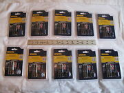 10 New Irwin 3 Pc Impact Double Ended Power Bits Phillips 1 2 3 1903502