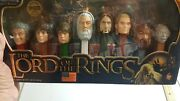 Lord Of The Rings Pez Set-8 Pieces-limited Edition Collector Series