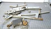 68 Buick Electra 225 Convertible Rear Right Side Window Track Assembly Motor