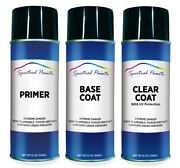 For Nissan Z2u Catand039and039s Eye Blue Metallic Aerosol Paint Primer And Clear Compatible