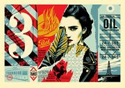 Sold Out Shepard Fairey Obey Wrong Path Large Format Print Edition Of Only 75