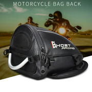 Waterproof Race Motorcycle Rear Seat Tail Bag Cone Shoulder Backpack Reflective
