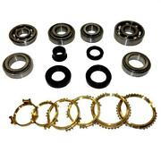 Rs5f50a Transmission Bearing And Seal Kit With Synchros - Usa Standard Gear