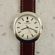 Vintage C.1960 Automatic Ref. R 815 Linen Dial Watch Cal. 854 In Steel