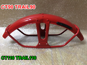 Honda Front Fender Ct90 Trail 90 Ct110 Trail 110 Monza Red 61100-102-701zd.