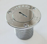 Deck Filler Diesel Chrome Plated With 50mm 2 Hosetail 2-76725