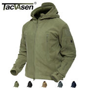 Tacvasen Fleece Jacket Menand039s Policy Security Outdoor Army Tactical Jackets Coats