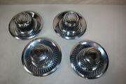 Set Of Four Ralley Wheel Caps - Real Gm - P/n 3925805