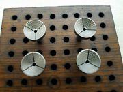 Selling A Used Set Of Umarked Mosely Style/long 8mm Lathe Step Collets 2-5.....