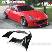 For Nissan 350z Z33 Rb Version 2 Style Frp Wide Front Vented Fender Flares Kits
