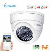 Eyes.sys 2mp/3mp/5mp Hd Cctv 36ir Outdoor Dome Ip Poe Security Camera Onvif Rtsp