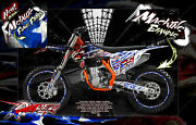 And039ripperand039 Graphics Wrap Decal Kit Fits Ktm 2012-2019 Exc Xcw 250 300 450 525