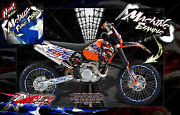 And039ripperand039 Graphics Wrap Kit For Ktm Dirt Bikes 1998-2006 Sx Sxf 250 300 380 450