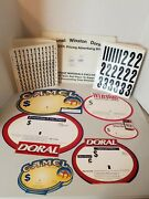 1990's Camel Winston Doral Gas Station Advertising Signs
