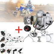 125cc Motor Engine 3 Speed With Reverse + Wire Harness Assembly F Atv Quad Bike