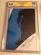 Cgc 9.8 Ss Star Trek Countdown 4 Photo Variant Signed Zachary Quinto Spock